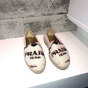 Authentic Prada Espadrilles